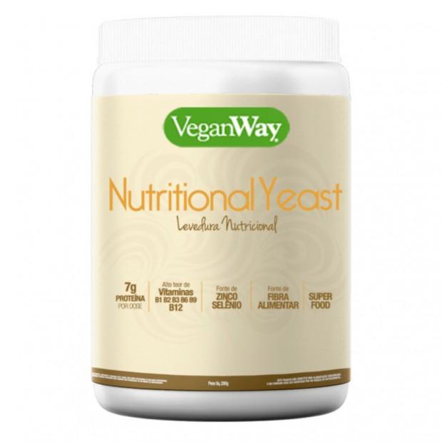 Levedo nutricional da VeganWay, enriquecido com vitamina B12 (Divulgação)