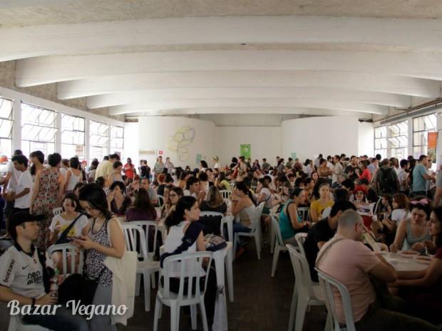 Bazar vegano de primavera 2014