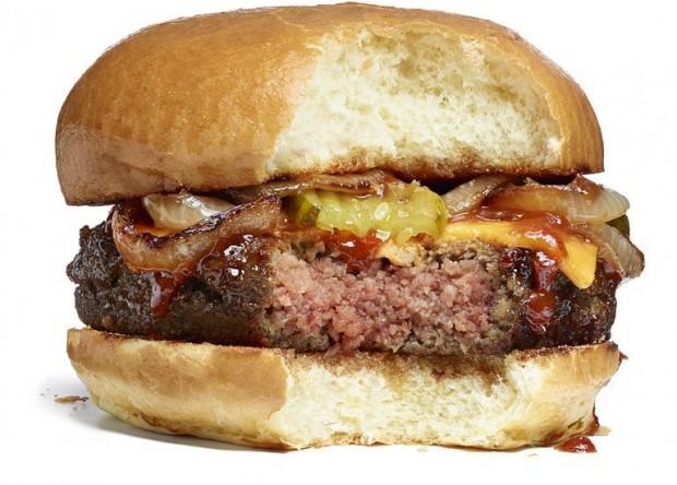 """""""Cheeseburguer"""" vegano da Impossible Foods (Divulgação)"""