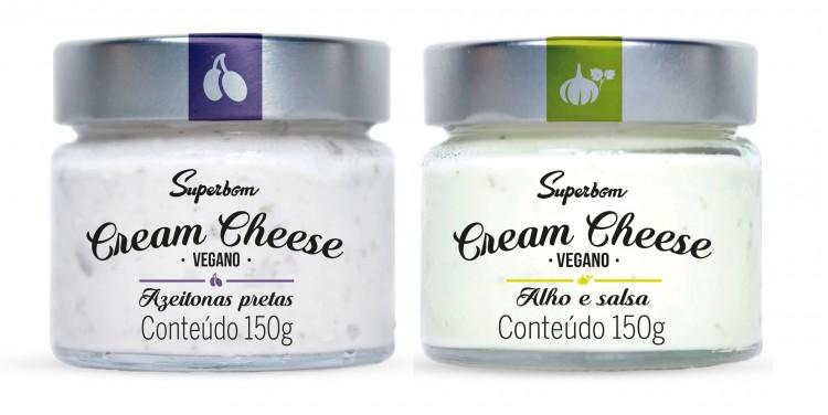 Cream cheese vegano da Superbom (Divulgação)